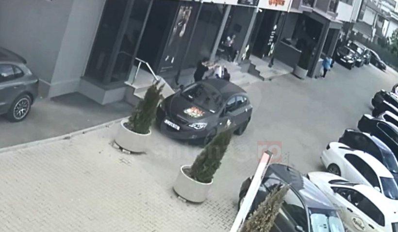 Scandalul în care a fost implicată vloggerița Tequila, filmat de camerele de supraveghere