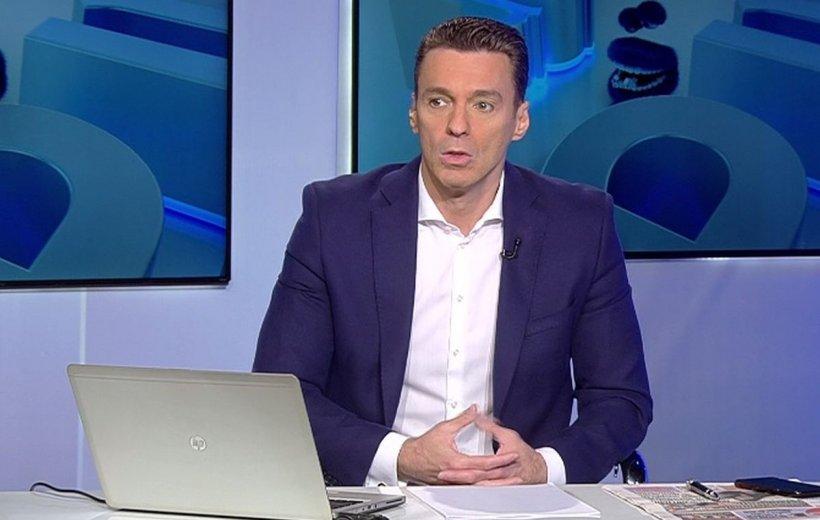 Pățania lui Mircea Badea în prima zi a săptămânii: Îți dai seama că dacă unul de acolo are virusul...