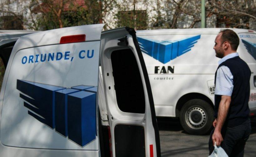 Mai mulți angajați Fan Courier, confirmați cu COVID-19