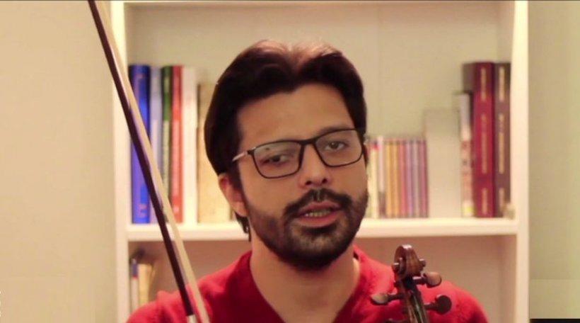 Eroul zilei. Artistul care dă cursuri de vioară gratuite on-line în pandemie