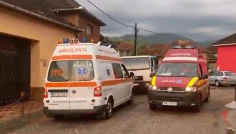 Alertă în Bihor. Un copil a fost luat de viitură, în satul Valea de Sus