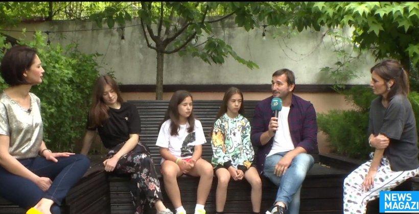 Familie de vedete cu cinci copii și vacanțe romantice. Cum e acasă la creatoarea de modă Maria Marinescu