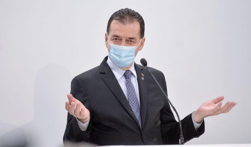 Ludovic Orban, starea de alertă prelungită prin hotărâre de Guvern