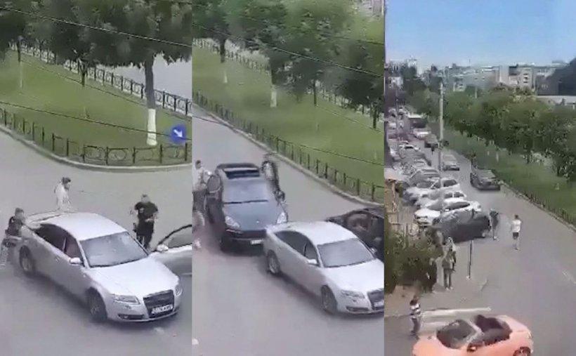 Nouă bărbați reținuți la Craiova, după răfuiala între interlopi