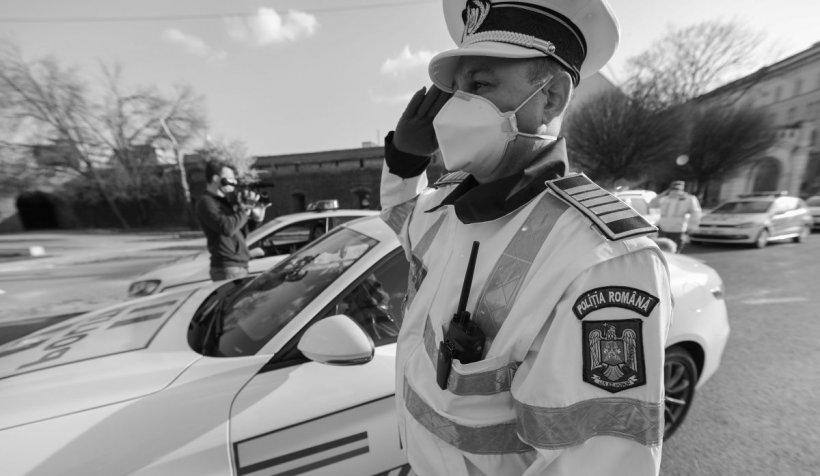 Șeful unui post de poliție din Olt a murit de coronavirus. Este primul polițist care a murit din cauza COVID-19