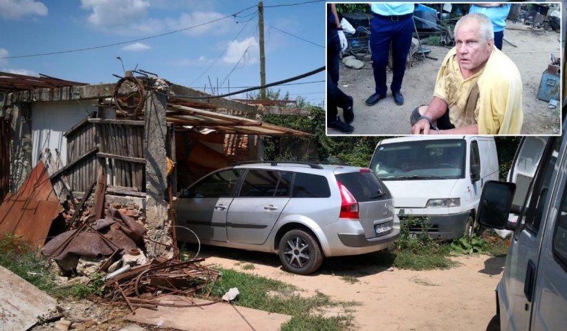 Maşina cu care Gheorghe Dincă le-a răpit pe Alexandra şi Luiza, scoasă la licitaţie