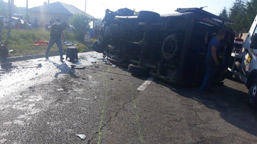 Șoferul care a provocat accidentul din Vrancea, soldat cu doi morți și 11 răniți, voia să devină primar