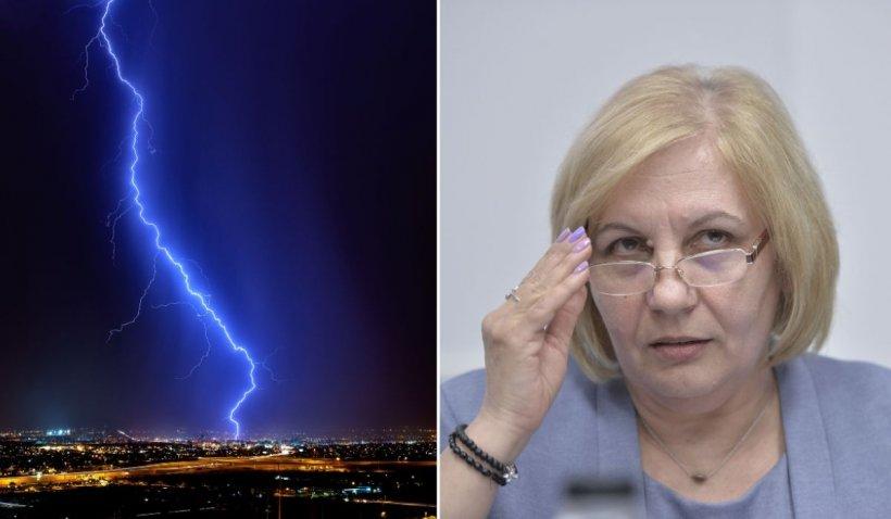 Avertismentul lansat de Elena Mateescu, directorul ANM: 'Vremea deosebit de instabilă va continua!'