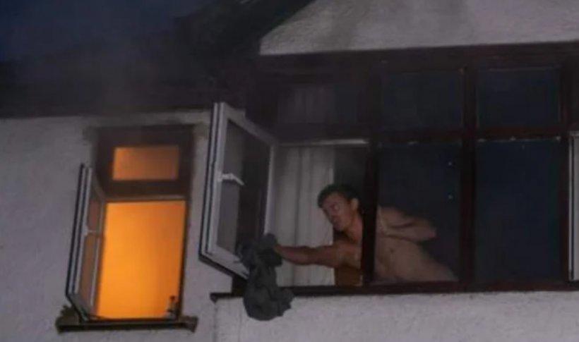 Povestea lui Remus, șoferul român din Anglia care a intrat desculț într-o casă în flăcări ca să salveze vieți