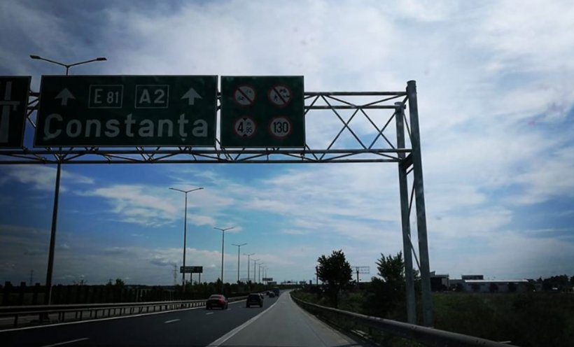 Circulație restricționată pe Autostrada Soarelui. Când se va putea circula normal pe drumul spre mare