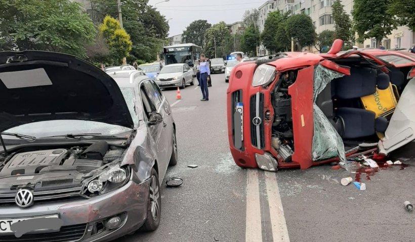 Un tânăr din Constanța a murit într-un accident provocat de o șoferiță de 70 de ani