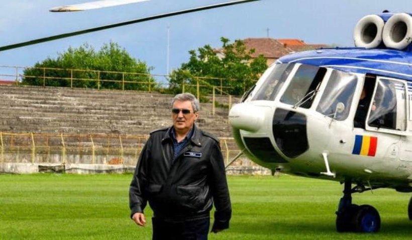 Marcel Vela, mesaj pentru proprietarul de elicopter privat care a ajutat la salvarea oamenilor din calea viiturii