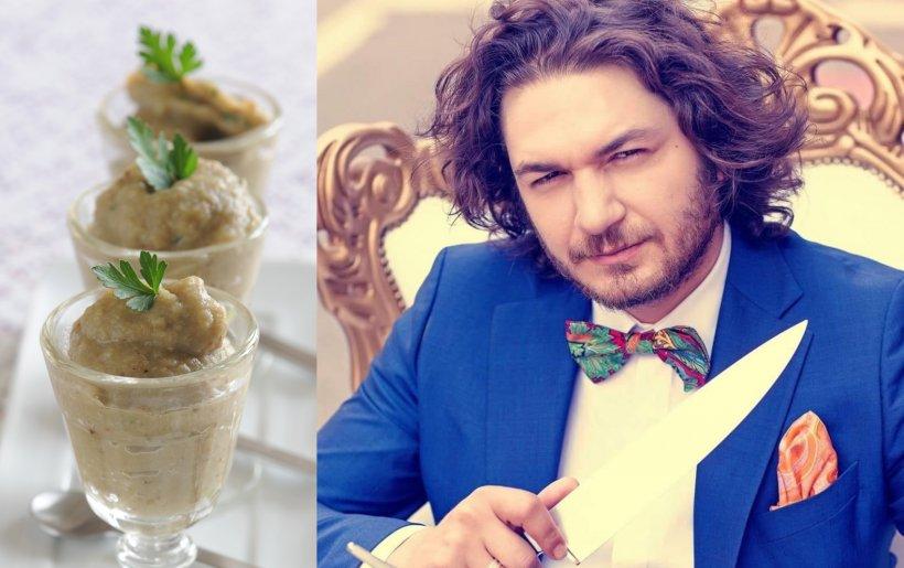 Cea mai bună salată de vinete din lume, așa cum o face Chef Florin Dumitrescu. Rețeta zilei