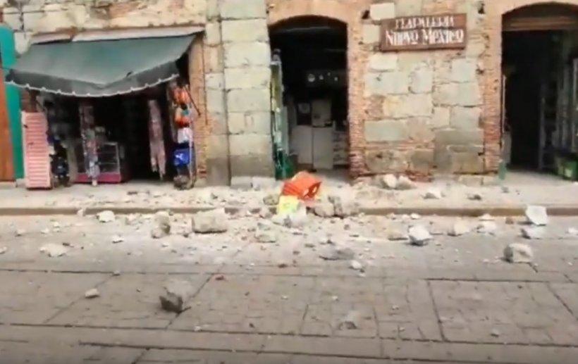 Cutremur devastator în Mexic: 7,4 pe Richter. Imagini șocante
