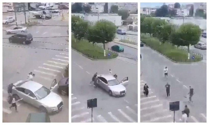 Răfuială sângeroasă între bande rivale din Dolj. Bărbat ucis, mai multe persoane rănite