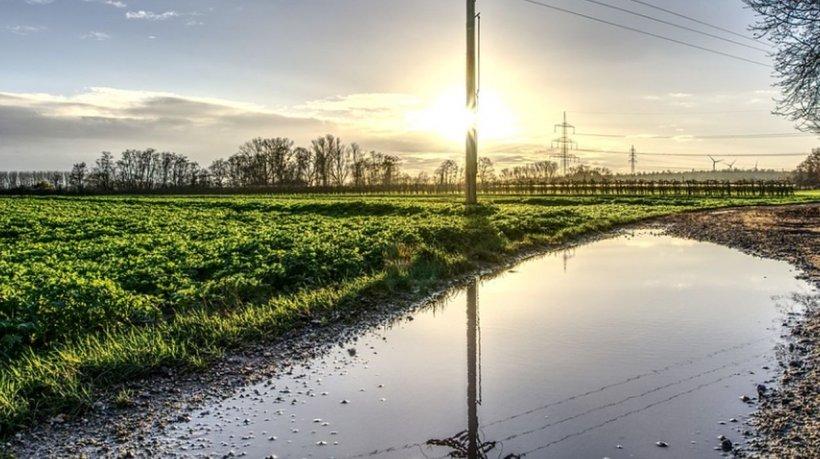 Moarte ciudată în Hunedoara: O femeie s-a înecat într-o baltă formată în urma ploilor torențiale
