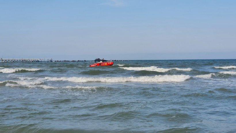 Alertă în staţiunea Mamaia! Au reînceput căutările băieţelului dispărut ieri în mare