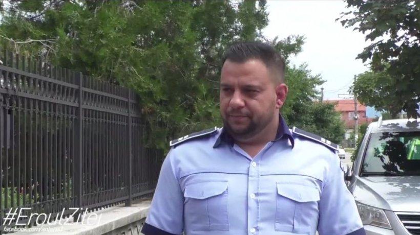 Eroul Zilei. Bogdan Chirițoiu, poliţistul care a prins un hoţ în timpul liber: ''Dormeam şi am auzit ţipetele femeii!''