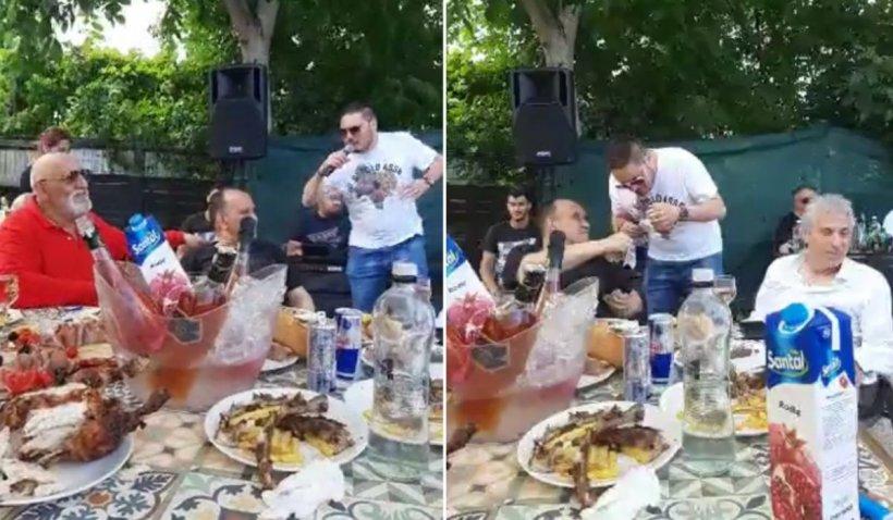 Interlopi din Constanța, petrecere live pe Facebook: ''Ia uite bă, Poliţia! Bagă numai turceşti. Au venit ameţiţii!''