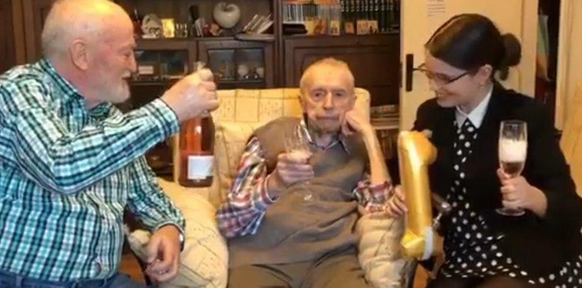 Cutremurător! Ultimul mesaj transmis românilor de cel mai vârstnic bărbat din lume. Dumitru Comănescu a murit la 111 ani