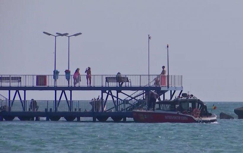 Copilul dispărut în mare, în stațiunea Mamaia, a fost găsit fără suflare