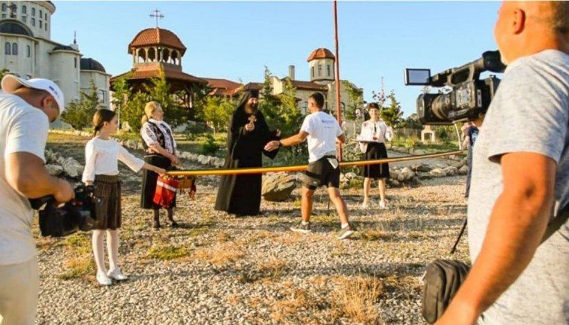 Un bărbat din Iași a venit la mare pe jos. Bărbatul a ajuns după zece zile la Constanța și a slăbit 9 kilograme