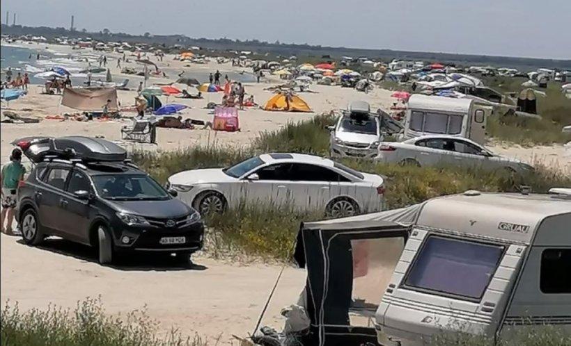 Plajele sălbatice, luate cu asalt de români, în weekend. De ce au fost amendați turiștii - VIDEO