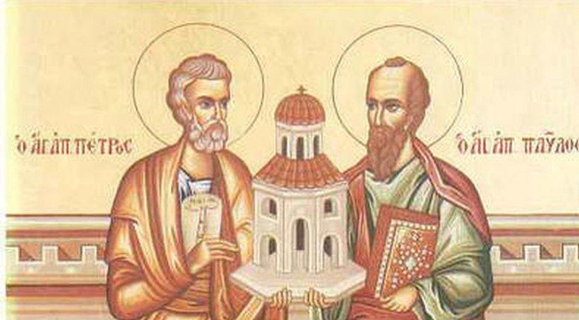 Sfinții Petru și Pavel, 29 iunie. Ce este interzis să mâncăm astăzi. Este considerat mare păcat