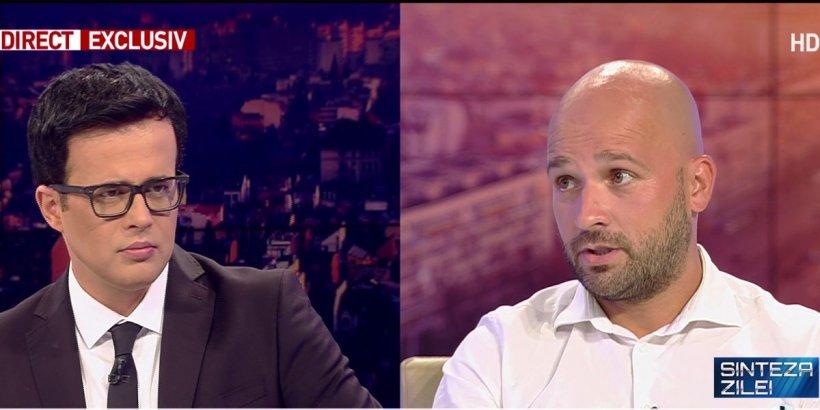 """Andrei Ștefănescu, interviu exclusiv după ce a fost externat: """"Cineva m-a gonit astăzi din parc"""""""