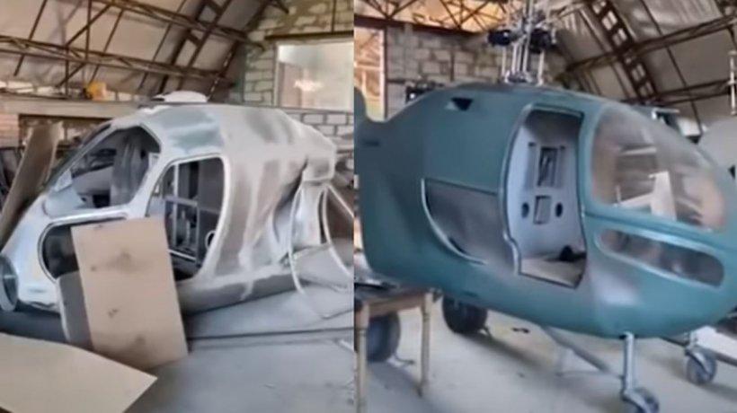 Elicoptere fabricate ilegal în Republica Moldova. Unde urmau să ajungă