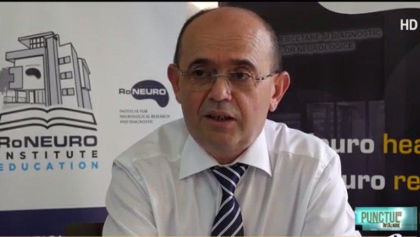 """Prof. dr. Mureșanu, despre efectele grave ale infectării Covid-19: """"Se poate rămâne cu sechele profunde la nivelul sistemului nervos"""""""