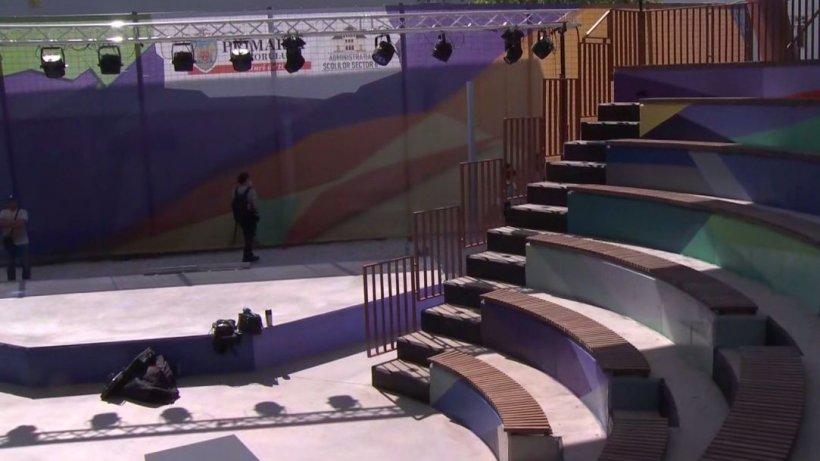 Veste bună pentru bucureşteni! A fost inaugurat primul amfiteatru din Capitală în aer liber