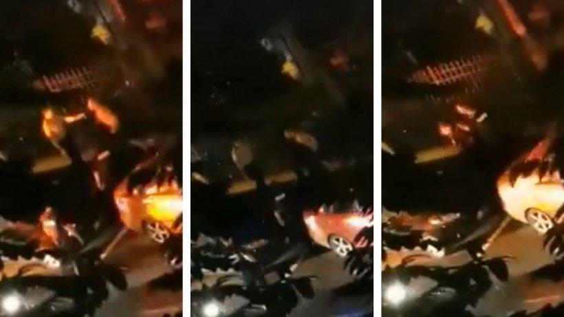 Incident grav în sectorul 4: Polițist făcut K.O. de un recidivist (VIDEO)
