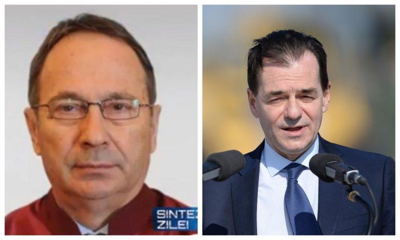Președintele CCR reacționează după ce Ludovic Orban i-a îndemnat pe români să nu respecte deciziile Curții