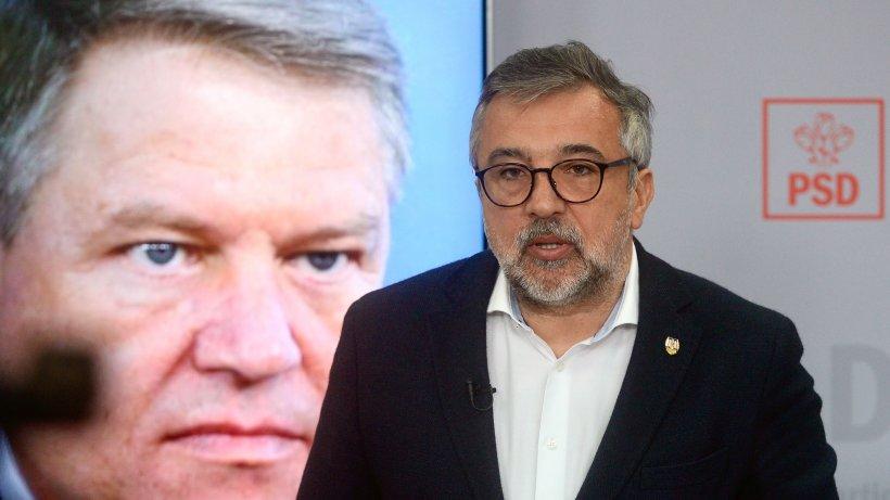 """PSD îi răspunde lui Iohannis: """"Am reparat de fiecare dată prostiile și aberațiile făcute de guvernul său"""""""