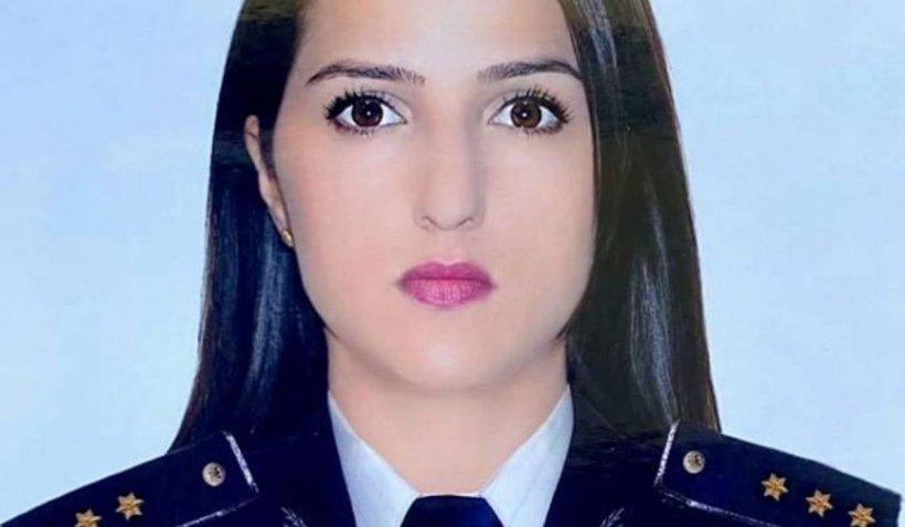 Ea este Andreea, polițista de frontieră care a intrat într-o casă în flăcări pentru a salva un bărbat