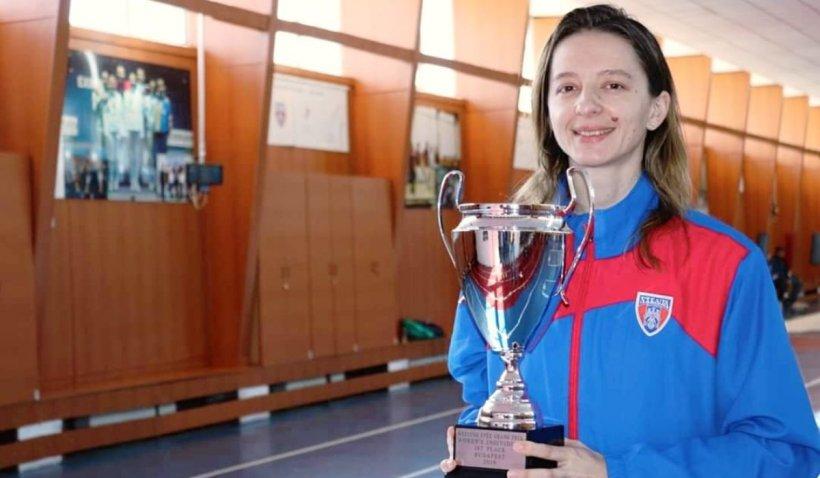 Ana Maria Popescu a câștigat pentru a patra oară Cupa Mondială la spadă