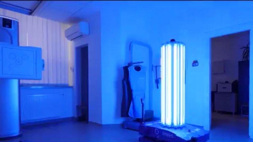 Spitalul din Bucureşti care a primit ca donaţie un robot de sterilizare