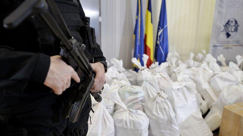 Caz șocant. Captură de droguri de un miliard de euro în România. Capul rețelei, fost locotentent al lui Pablo Escobar