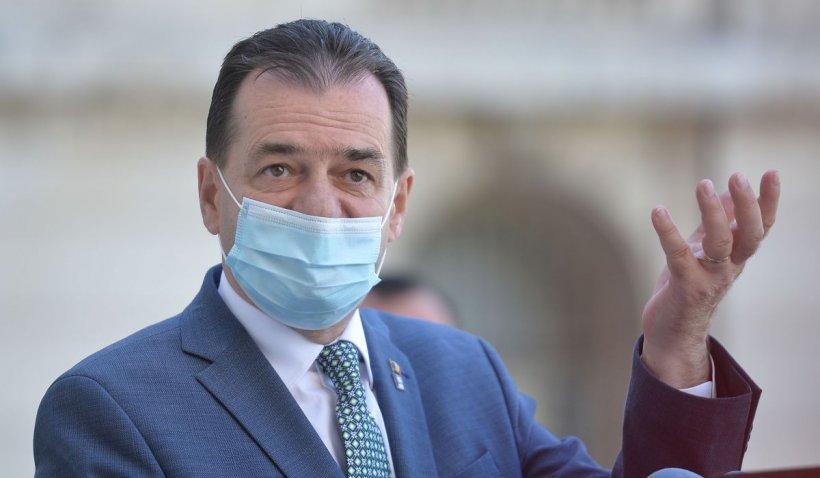 Ludovic Orban, huiduit de protestatari la sediul PNL. Se cere demisia Premierului
