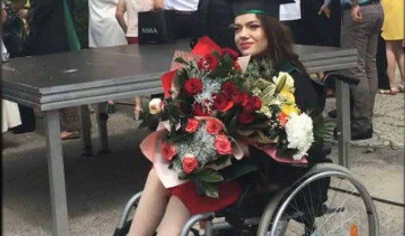 Andreea Nechita, medicul care care vindecă oameni din scaunul cu rotile. Momentele de reușită profesională îi dau forța de a merge înainte