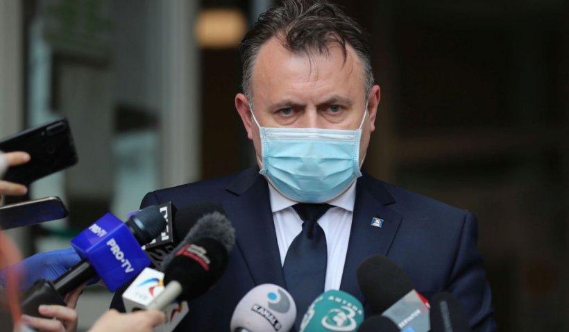 Ministrul Sănătății, anunț de ULTIMĂ ORĂ: La 3 cazuri la 1.000 de locuitori se poate ajunge la carantinarea unei zone