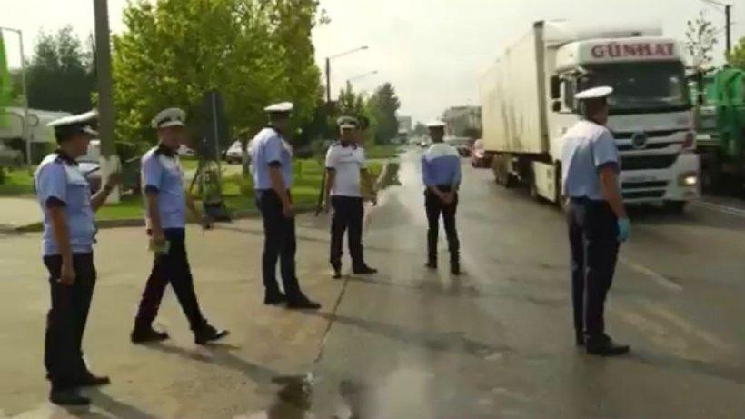 Razie de amploare în Bucureşti! Cu ce nereguli au fost prinşi transportatorii
