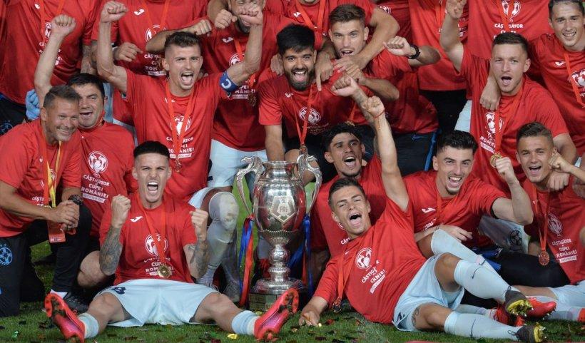 FCSB a câștigat Cupa României și s-a calificat în preliminariile Europa League. Când va avea loc primul meci
