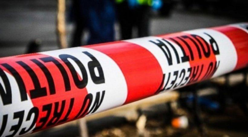 Tatăl criminal care și-a înjunghiat băiatul de 8 ani a fost prins! Imagini exclusive