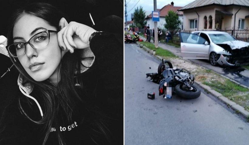 Apel disperat pentru Iris, o tânără motociclistă spulberată de un șofer în Argeș