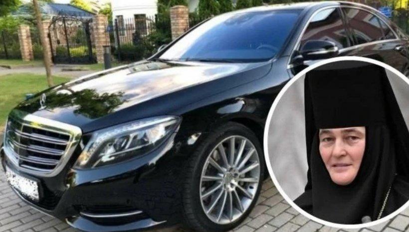 Inimaginabil! O stareță a unei mănăstiri conduce un Mercedes-Benz S-Class de 100.000 de euro. Ce mesaj i-a transmis Patriarhul!