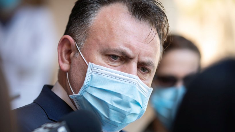 Ministrul Nelu Tătaru: Infecția cu COVID poate prezenta simptome de la prima până la a zecea zi de infectare