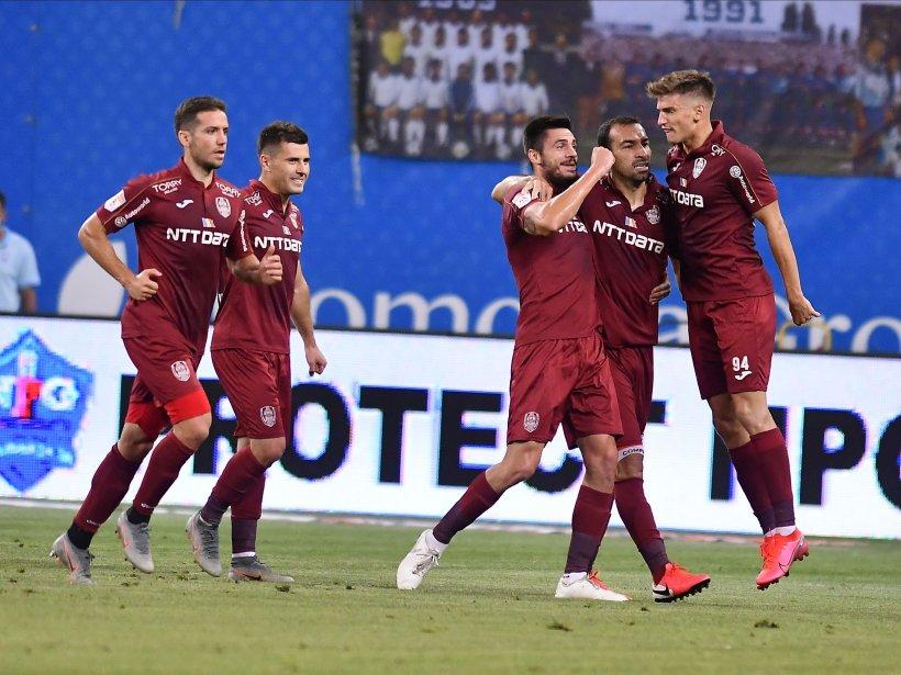 CFR Cluj, campioana României! Al treilea titlu consecutiv pentru echipa lui Dan Petrescu