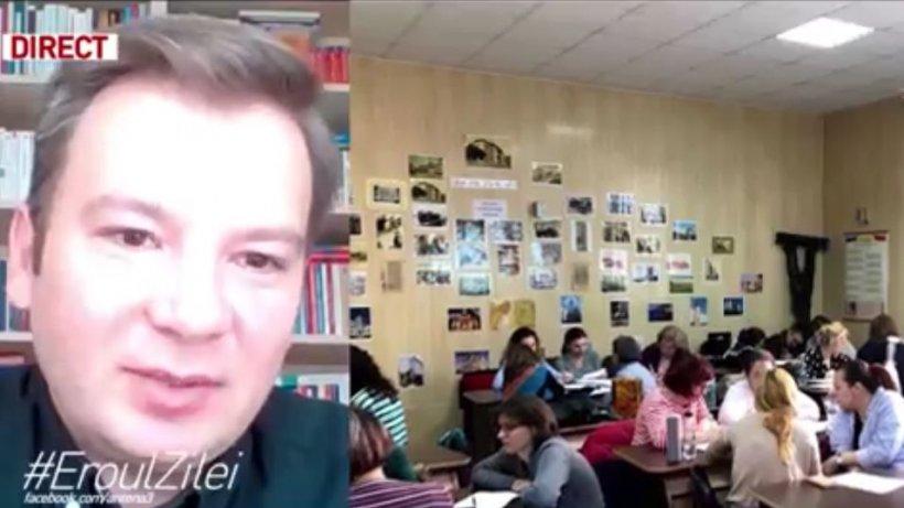 Profesorul de limba română din Târgu-Mureş care adaptează cursurile la nevoile elevilor